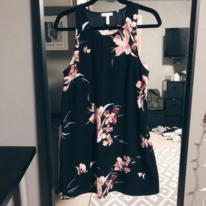 Leith Tropical Floral Dress